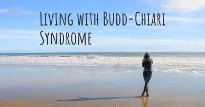 Living with Budd-Chiari Syndrome