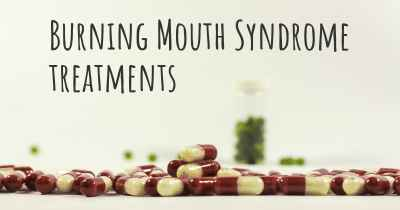 Burning Mouth Syndrome treatments