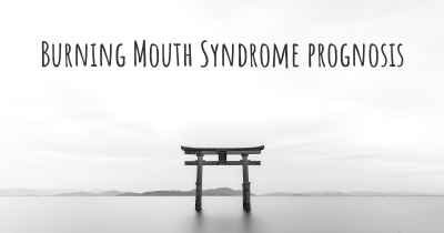 Burning Mouth Syndrome prognosis