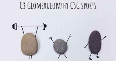 C3 Glomerulopathy C3G sports
