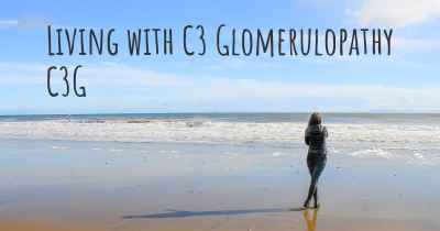 Living with C3 Glomerulopathy C3G