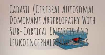 Cadasil (Cerebral Autosomal Dominant Arteriopathy With Sub-Cortical Infarcts And Leukoencephalopathy) jobs
