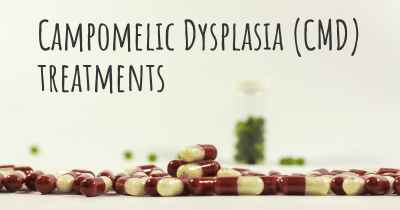 Campomelic Dysplasia (CMD) treatments