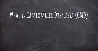What is Campomelic Dysplasia (CMD)