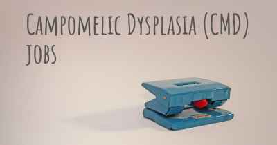 Campomelic Dysplasia (CMD) jobs