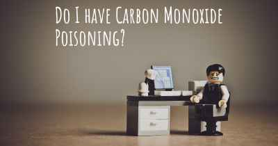 Do I have Carbon Monoxide Poisoning?
