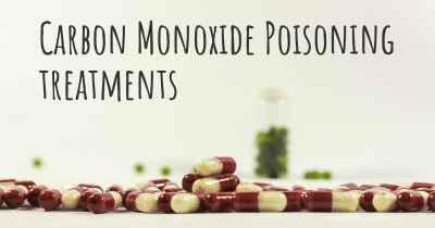 Carbon Monoxide Poisoning treatments