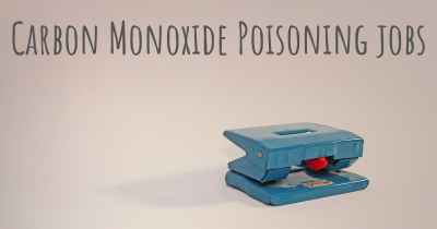 Carbon Monoxide Poisoning jobs