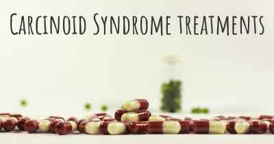 Carcinoid Syndrome treatments