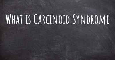 What is Carcinoid Syndrome
