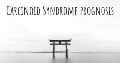 Carcinoid Syndrome prognosis