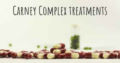 Carney Complex treatments