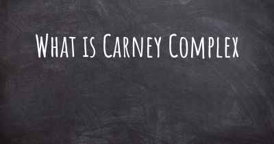 What is Carney Complex