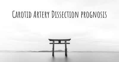 Carotid Artery Dissection prognosis