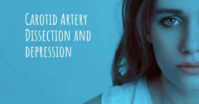 Carotid Artery Dissection and depression