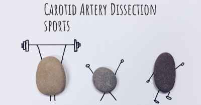 Carotid Artery Dissection sports