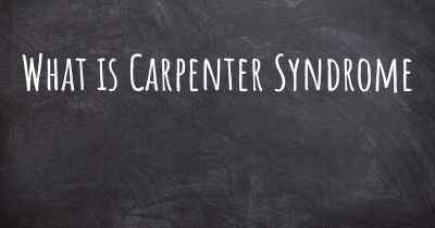 What is Carpenter Syndrome