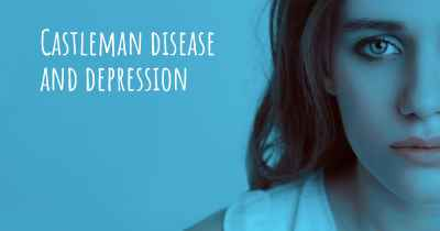 Castleman disease and depression
