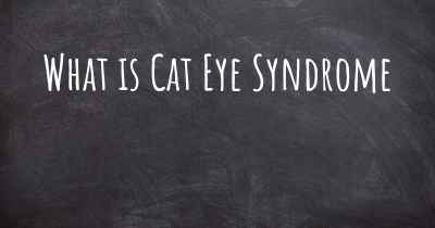 What is Cat Eye Syndrome