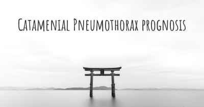 Catamenial Pneumothorax prognosis