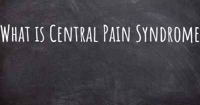What is Central Pain Syndrome