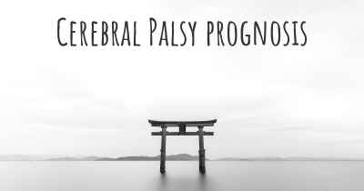 Cerebral Palsy prognosis