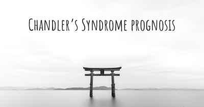 Chandler's Syndrome prognosis