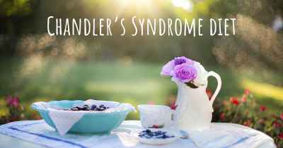 Chandler's Syndrome diet