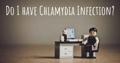 Do I have Chlamydia Infection?