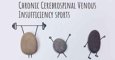 Chronic Cerebrospinal Venous Insufficiency sports