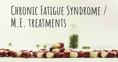 Chronic Fatigue Syndrome / M.E. treatments