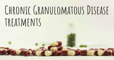 Chronic Granulomatous Disease treatments