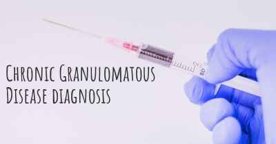 Chronic Granulomatous Disease diagnosis