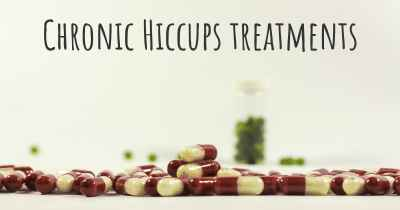 Chronic Hiccups treatments