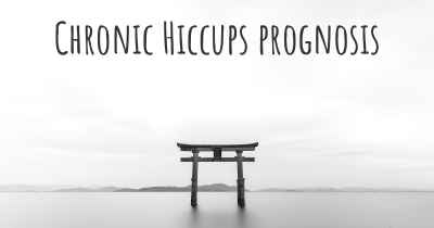 Chronic Hiccups prognosis