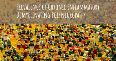 Prevalence of Chronic Inflammatory Demyelinating Polyneuropathy