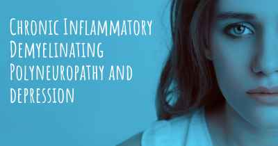 Chronic Inflammatory Demyelinating Polyneuropathy and depression
