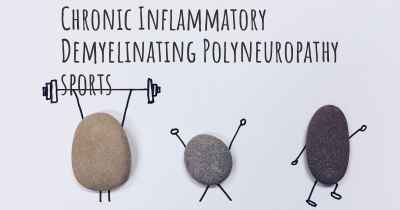 Chronic Inflammatory Demyelinating Polyneuropathy sports