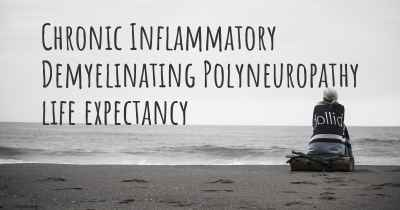 Chronic Inflammatory Demyelinating Polyneuropathy life expectancy