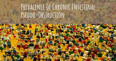 Prevalence of Chronic Intestinal Pseudo-Obstruction
