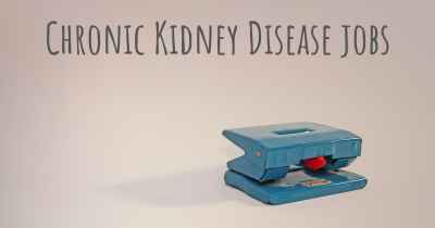 Chronic Kidney Disease jobs