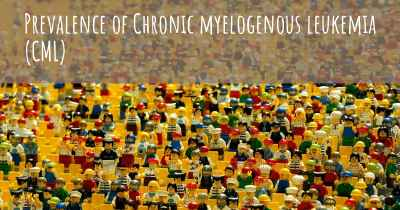 Prevalence of Chronic myelogenous leukemia (CML)