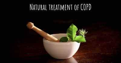 Natural treatment of COPD