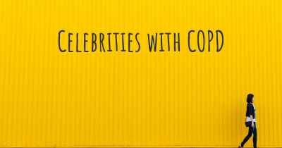 Celebrities with COPD