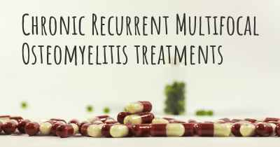 Chronic Recurrent Multifocal Osteomyelitis treatments