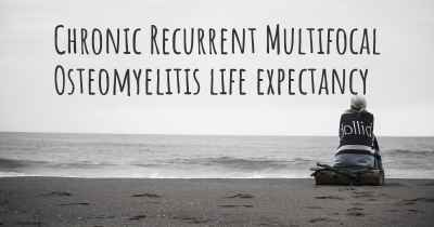 Chronic Recurrent Multifocal Osteomyelitis life expectancy