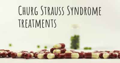 Churg Strauss Syndrome treatments