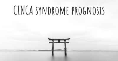 CINCA syndrome prognosis