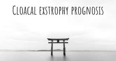 Cloacal exstrophy prognosis