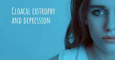Cloacal exstrophy and depression